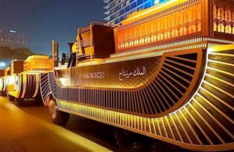 متحف الحضارة المصرية يتزين لاستقبال موكب المومياوات الملكية..غدًا |صور