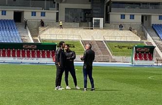 كارتيرون يجتمع بطبيب الفريق ويطمئن على حالة اللاعبين