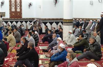 افتتاح المسجد الكبير بأولاد خلف في دمياط بتكلفة 9 ملايين جنيه | صور