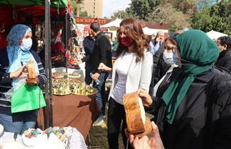 الجيزة تفتتح معرضًا لبيع منتجات الشباب وأصحاب الحرف بالتعاون مع نادي الصيد|صور