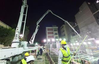 الخشت ينشر صورًا حديثة لمشروع إنشاء العيادات الخارجية بمستشفى أبو الريش الياباني |صور