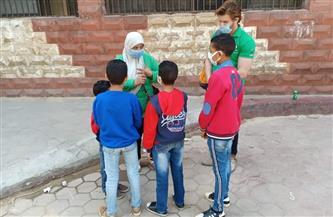 تفاصيل إنقاذ 6 أطفال أشقاء من خطر الشارع وإلحاقهم بدار رعاية بالقاهرة |صور