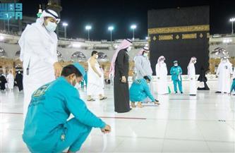 فحص 3 ملايين من المعتمرين والمصلين بالمسجد الحرام حراريًا