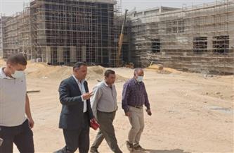 """رئيس جهاز """"بدر"""" يتفقد مشروعات الطرق المؤدية لمحطات القطار الكهربائي وأعمال الزراعة في """"سكن لكل المصريين"""""""