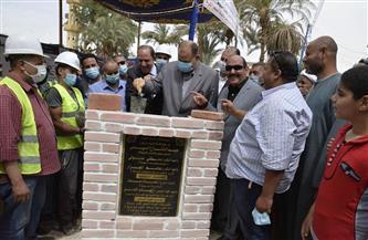 وضع حجر أساس مشروع صرف صحي قرى ديروط بتكلفة 240 مليون جنيه