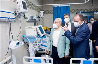 افتتاح وحدات جديدة للعلاج الاقتصادي والعناية المركزة فى مستشفى الباطنة بجامعة طنطا | صور