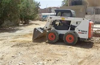 رفع المخلفات في عدد من المناطق بمدينة القصير   صور