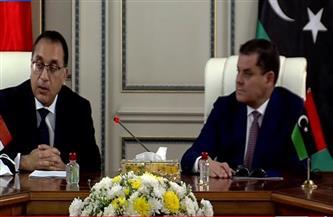 رئيس الوزراء الليبي: يوجد مجالات عديدة سيتم التعاون فيها مع مصر ونثمن دعمها بلادنا