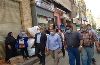 محافظ المنوفية يتابع أعمال تطوير ورفع كفاءة عدد من شوارع مدينة منوف  صور