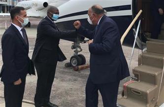 وزير الخارجية يصل إلى كينشاسا فى رابعة محطات جولته الإفريقية حاملا رسالة من الرئيس السيسي | صور
