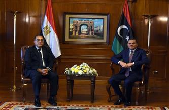 رئيس الوزراء ونظيره الليبي يشهدان توقيع عدد من وثائق التعاون بين البلدين