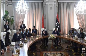 «مدبولي»: الرئيس السيسي حريص على دعم كافة المشروعات التنموية التي تخطط الحكومة الليبية لتنفيذها