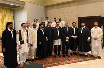 رئيس حكومة الوحدة الوطنية الليبية يقيم مأدبة إفطار لرئيس الوزراء والوفد المرافق
