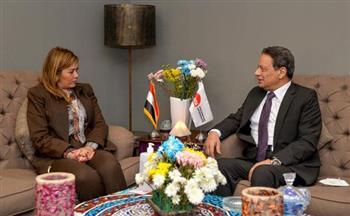 رئيس الأعلى للإعلام يلتقي المدير التنفيذي للأكاديمية الوطنية للتدريب
