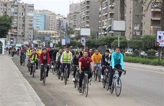 """""""يلا عجلة"""".. مبادرة شبابية لتشجيع ثقافة ركوب الدراجات في مصر"""