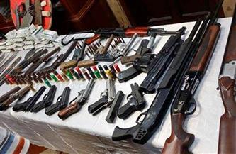 ضبط ٢٥٥ فردا محلي الصنع في حملة أمنية