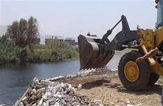 إزالة 248 حالة تعدٍ على نهر النيل في بني سويف