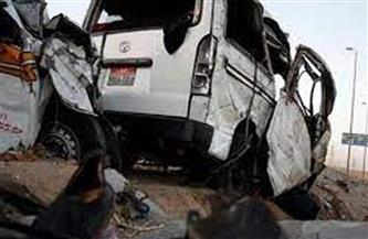 مصرع وإصابة 28 شخصا في حادث تصادم بأسوان