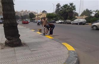 الإسكندرية تواصل رفع كفاءة طريق الكورنيش استعدادًا للصيف وأعياد الربيع| صور