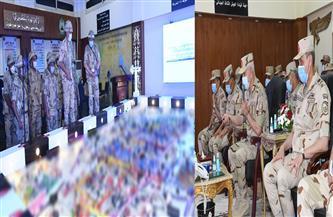 رئيس أركان حرب القوات المسلحة يشهد مشروع مراكز قيادة خارجى «إعصار62»| صور