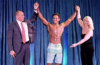 المصري عبد الله أنيس يتوّج ببطولة أمريكا المفتوحة لكمال الأجسام | صور
