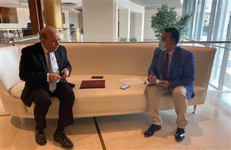 """وزير خارجية لبنان في حوار لـ""""بوابة الأهرام"""": مصر تلعب دورًا محوريًا في المنطقة والحاضن للدول العربية"""