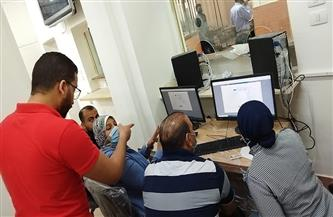 حي العجوزة: استمرار العمل على خطة التطوير وميكنة المركز التكنولوجي | صور