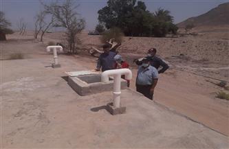 تطهير خزانات المياه الرئيسية والتكديس بسفاجا | صور