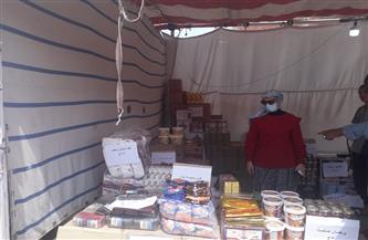 رئيسة مدينة سفاجا تتفقد معرض «أهلا رمضان» لبيع السلع بأسعار مخفضة | صور