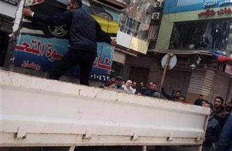 ضبط 55 حالة إشغال طريق في 3 حملات بمناطق وسط الإسكندرية