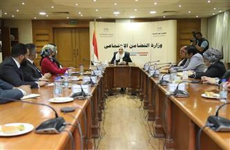 وزيرة التضامن تلتقي بوفد من تنسيقية شباب الأحزاب والسياسيين | صور