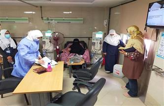 تفتيش مفاجئ على مستشفى كفر الشيخ العام | صور