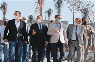 محافظ كفر الشيخ وسيف الوزيري يفتتحان فرع سيتي كلوب كفر الشيخ جزئيا