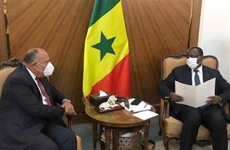 ننشر تفاصيل زيارة وزير الخارجية لداكار ولقائه رئيس السنغال | صور