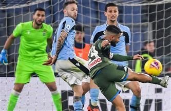 نابولى في مواجهة لاتسيو بالدوري الإيطالي.. وصراع التأهل لدوري الأبطال