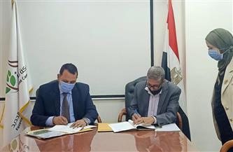 عقد اتفاق بين شركة تنمية الريف المصري الجديد ومعهد بحوث البساتين