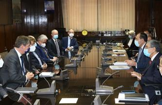 وزيرا الكهرباء والبترول يلتقيان سفير بلجيكا بالقاهرة وممثلي شركة DEME