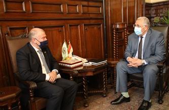 وزير الزراعة يبحث مع سفير أستراليا آفاق التعاون في مجال الزراعة |صور