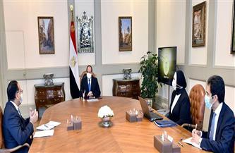 الرئيس السيسي يوجه بصياغة مخطط متكامل لتطوير القطاع الصناعي