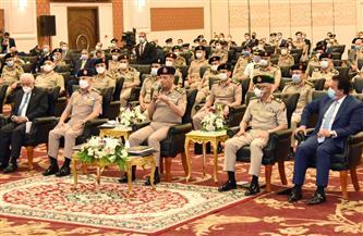 وزير الدفاع يشهد الندوة التخصصية لإدارة المخابرات الحربية عن الوعي المجتمعي في تحقيق الأمن القومي|صور
