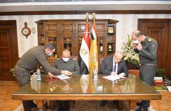 بروتوكول تعاون لجامعة القاهرة والهيئة الهندسية للقوات المسلحة لتنفيذ المشروعات الكبرى | صور