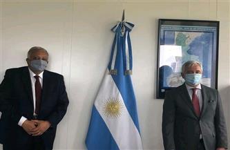 مندوب مصر بالأمم المتحدة بجنيف يلتقي نظيره الأرجنتيني