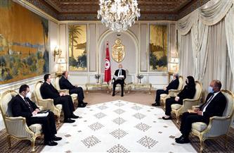 ننشر تفاصيل زيارة وزير الخارجية لتونس ولقائه الرئيس التونسي|صور