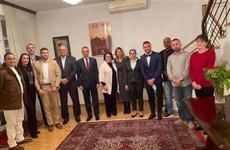 سفير مصر فى البوسنة والهرسك: رمضان يعزز العلاقات الإنسانية مع أبناء الجالية المصرية وأعضاء السفارة|صور
