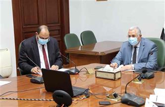 القصير وعبدالعاطي يترأسا اجتماع اللجنة التنسيقية العليا بين وزارتي الزراعة والري