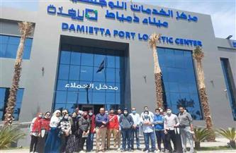 """""""ميناء دمياط"""" يواصل تدريب وتأهيل الشباب للعمل في الموانى  صور"""