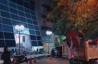 ضبط 98 شيشة وتحرير 6 محاضر في حملة ليلية مكبرة بالدقي| صور