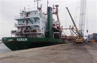 تداول 19 سفينة حاويات وبضائع عامة بمواني بورسعيد