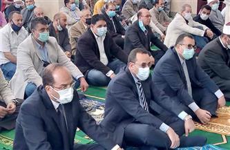 محافظ شمال سيناء يفتتح مسجد الشهيد محمد شراب بتكلفة مليون و750 ألف جنيه   صور
