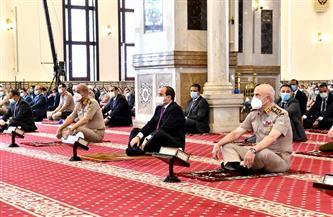 الرئيس السيسي: الشعب المصري يقدر جهود وتضحيات أبطال القوات المسلحة دفاعا عن أمن مصر وسلامتها